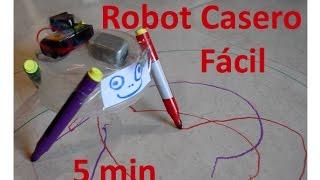 ✅ Como hacer un Robot Casero 100% fácil de hacer en solo 5 minutos