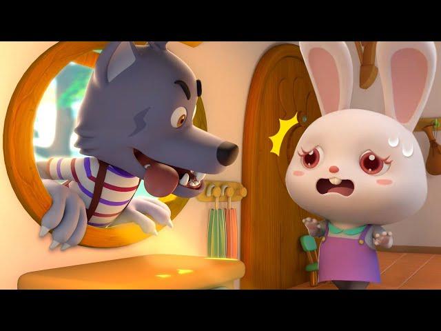 ママじゃない!ドアを開けないよ! | 子供向け安全教育 | 赤ちゃんが喜ぶアニメ | 動画 | ベビーバス| BabyBus