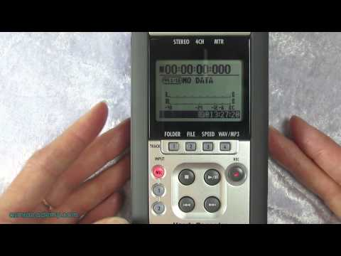 Zoom H4n Tutorial - QuickStart Guide: How to Create Your First Recording