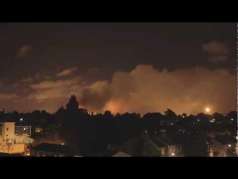 אש בשמי לונדון