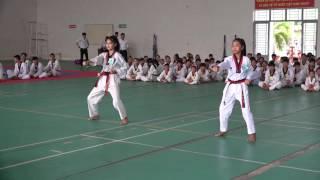 Kì thi thăng 1-3 đẳng môn Taekwondo tỉnh Tây Ninh.