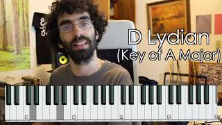 leaping lydian key changes - ben levin