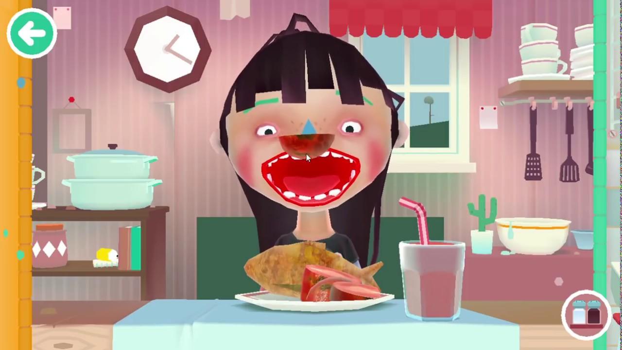 Toca Kitchen 2 (Game Nấu ăn Trẻ em) #1 : Cá chiên sốt cà + Nước ép dưa hấu