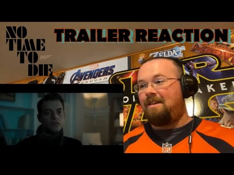 No Time to Die Featurette – Meet Safin Trailer Reaction