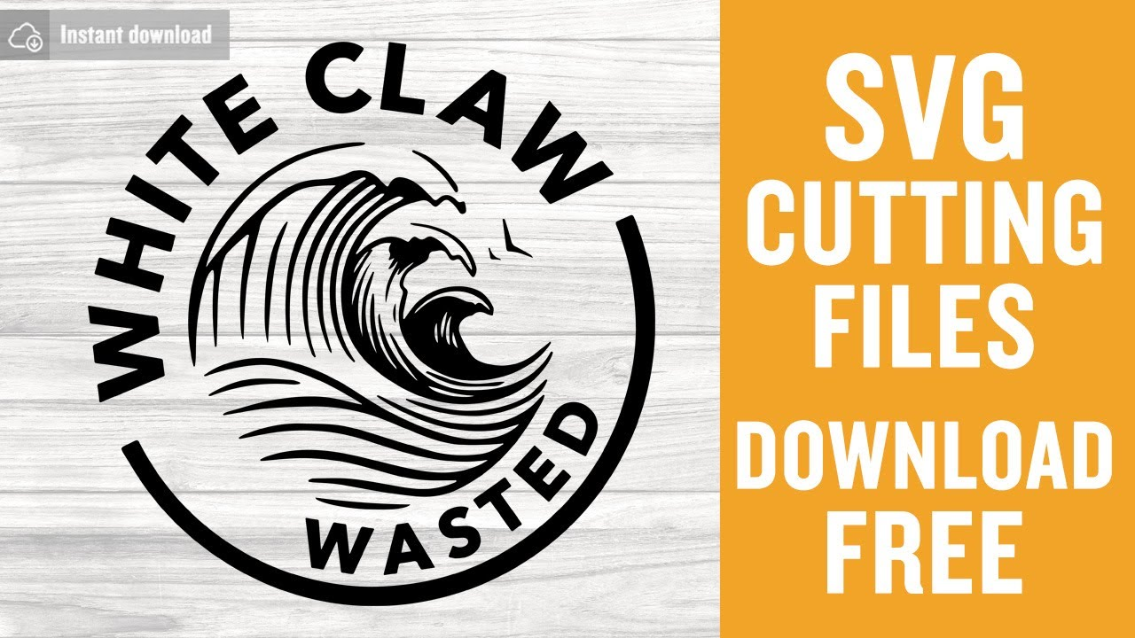 Download White Claw Svg Free Cutting Files for Cricut Silhouette ...