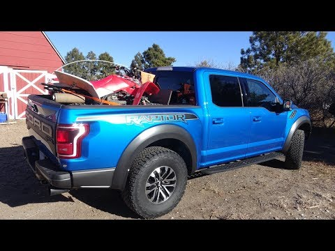 Ford Raptor review part one, rock climbing, trail riding in the Rockies