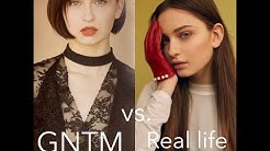 "GNTM SHOOTINGS FAKE ?  Meine Modelbilder ""real life"" vs. ""GNTM Bilder""  + special guest Maribel"