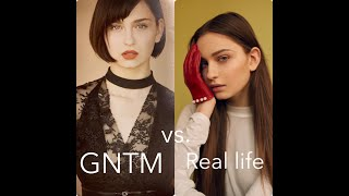 "GNTM SHOOTINGS FAKE ?  Meine Modelbilder ""real life"" vs. ""GNTM Bilder""  + special guest Maribel"