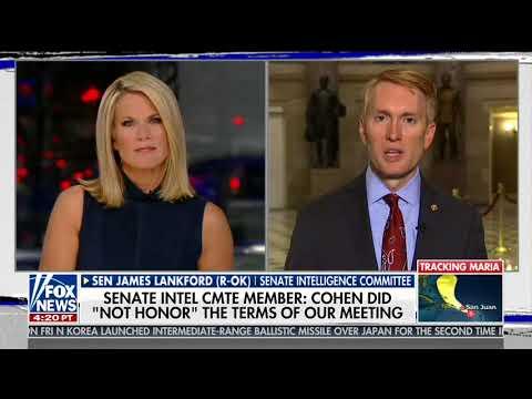 Senator Lankford Discusses Paul Manafort, Michael Cohen on Fox News
