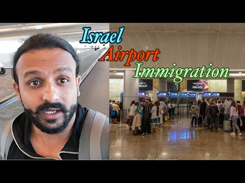 Israel Airport Immigration And Sim Card Price