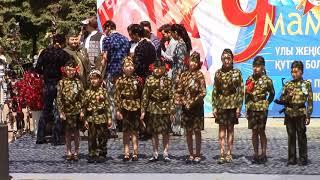 9 мая 2018.  Бессмертный полк в Алматы