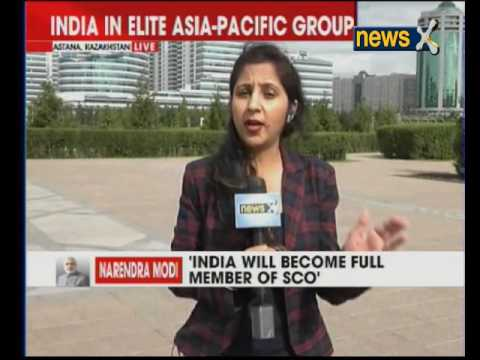 Narendra Modi: India will become full member of SCO