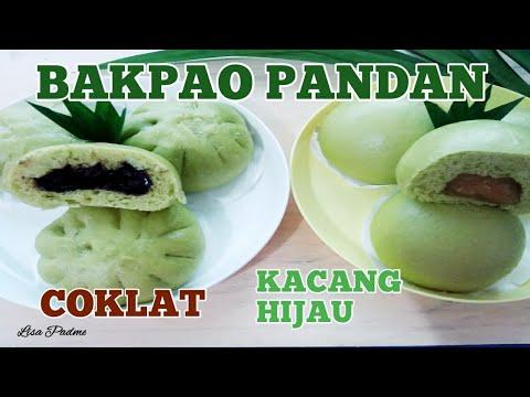 Resep Bakpao Pandan Isi Coklat Dan Kacang Hijau How To Make Pandan Steamed Buns Youtube