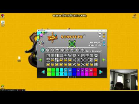 UNLIMITED STARS AND COINS GEOMETRY DASH HACK!!