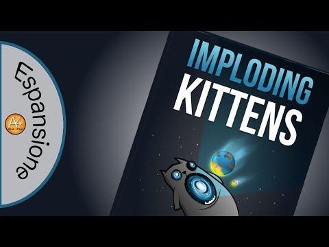 Gameplay - La prima espansione di Explonding Kittens!