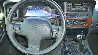 Джип Гранд-Черокі від ZJ 5.2 л V8 - 5-ступінчаста механічна своп демонстрації (гопро стерео)