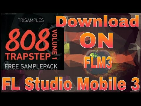 808 Trapstep Pack Vol 1 Free Download in FLSM3