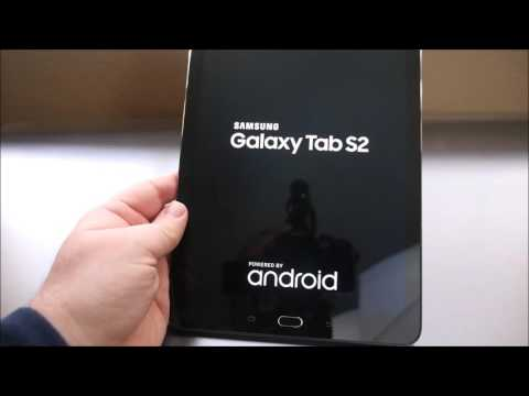 "Samsung Galaxy Tab S2 9.7"" Unboxing and Overview"