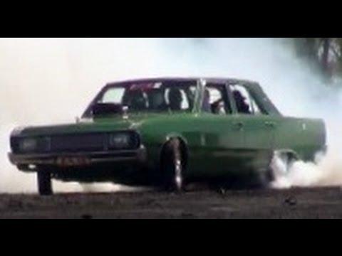 BLOKY - NASCAR-Powered Valiant Burnout