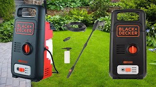 Black+Decker High Pressure Washer BXPW1300E Unboxing Testing