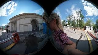 VR путешествия с Ольгой Нагаевой (Московское ВДНХ, часть 2)