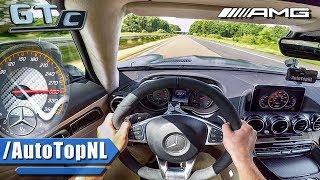 Mercedes AMG GTC ACCELERATION & SPEED 301km/h AUTOBAHN POV by AutoTopNL