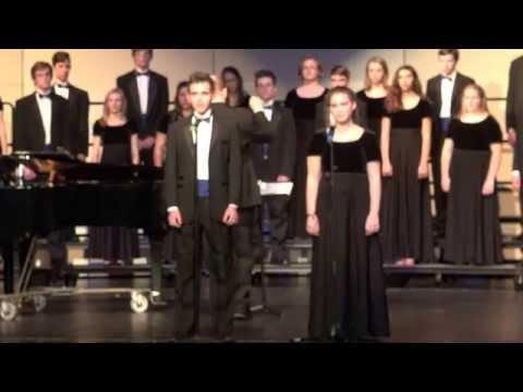 I Am But A Small Voice Matthew Gray Audrey Cann  2016 Highlands High School Chamber Choir