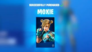Claim the *NEW* MOXIE SKIN in Fortnite! Fortnite Season x!