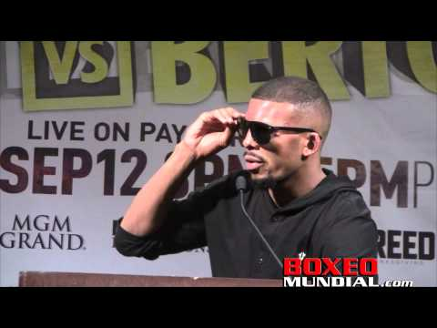 Badou Jack talks George Groves fight at post fight presser
