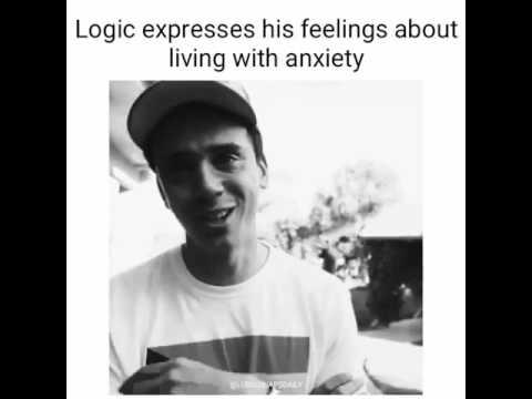 Logic - talks anxiety
