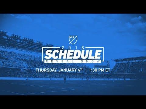 2018 MLS Schedule Reveal Show   LIVE