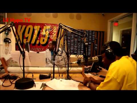 Hype Pacino visits K97.5 Radio Station (Raleigh, NC)