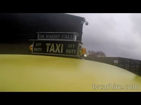 UK based NYC Checker Cab - March 2016
