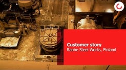 Konecranes - Raahe Steel Works, Finland
