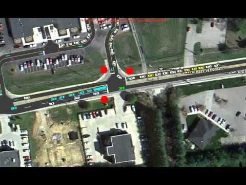 West Teays Elementary School Existing Traffic