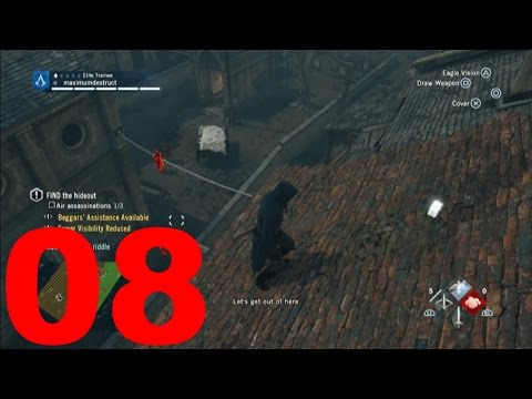Assassin's Creed: Unity - Part 8 - Find the Hideouts (Let'S Play / Walkthrough / Gameplay)