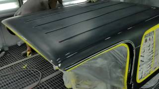 How to paint your Jeep hartop!!!
