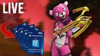 VALENTIJN UPDATE - GIVEAWAY IN BIO - FORTNITE LIVESTREAM PS4 (Nederlands)