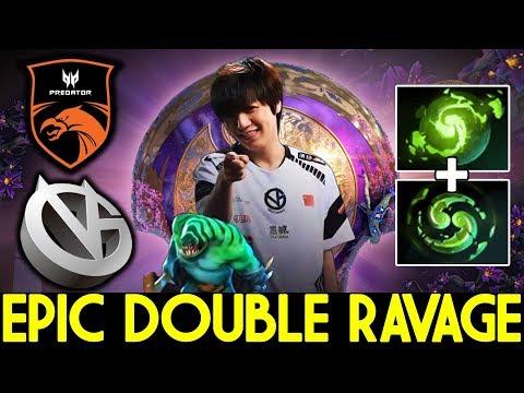 Epic Double Ravage - VG Vs TNC - MAIN EVENT TI 9 DOTA 2