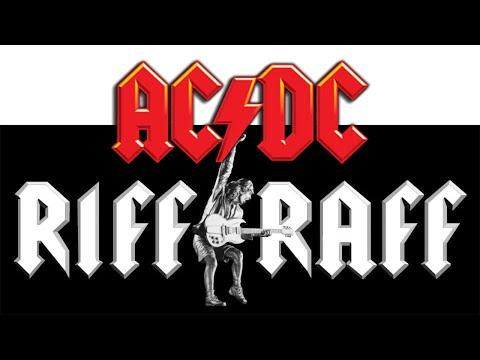 Как играть AC/DC  - Riff Raff. Подробный разбор с табами.