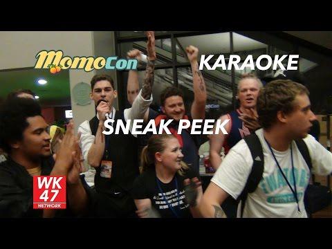 MomoCon 2016 Karaoke Sneak Peek