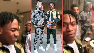 NBA YoungBoy and NBA Ben 10 Reunite In Baton Rouge On His Birthday After YB Gets Let Off Probation