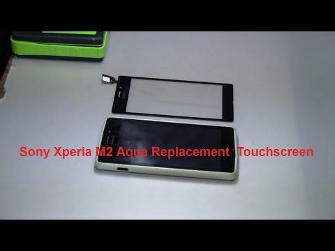 Sony Xperia M2 Aqua Replacement Touchscreen, замена тачскрина