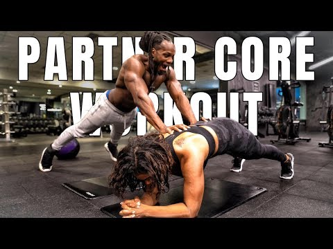 COUPLE CORE WORKOUT TRY THIS WITH YOUR PARTNER!