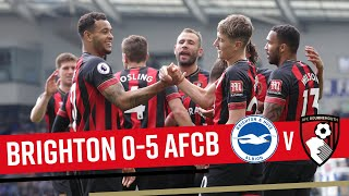 A FIVE STAR PERFORMANCE ⭐ | Brighton & Hove Albion 0-5 AFC Bournemouth