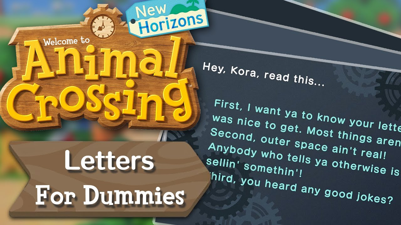 Letters for Dummies
