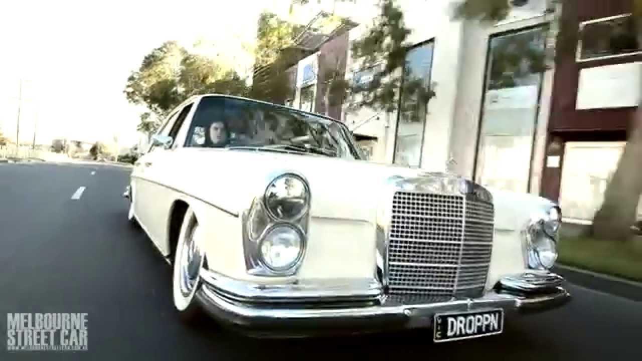 Bagged Mercedes Benz