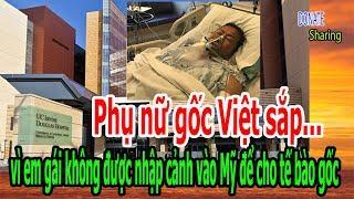 Phụ nữ gốc Việt sắp... vì em gái không được nhập cảnh vào Mỹ để cho tế bào gốc - Donate Sharing