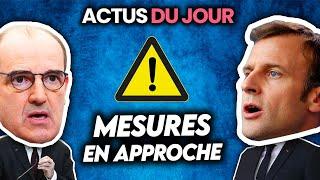 Nouvelles mesures en approche et anniv du confinement, militaires français neon🅰️ zi.. Actus du jour