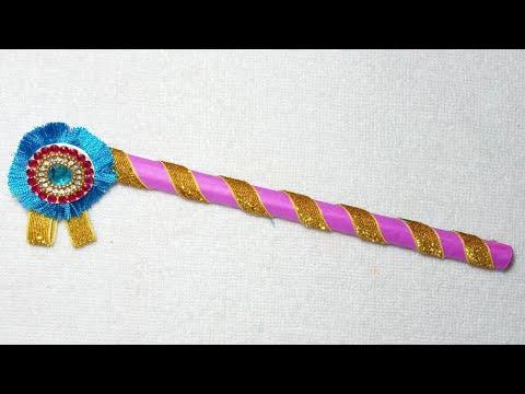 Janmashtami special flute making |DIY paper craft